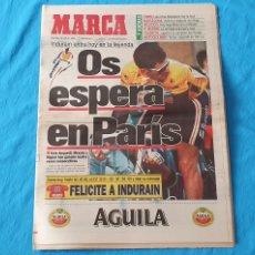 Coleccionismo deportivo: PERIÓDICO DEPORTIVO MARCA - OS ESPERA EN PARÍS - 24/07/94. Lote 288905713