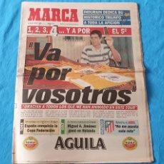 Coleccionismo deportivo: PERIÓDICO DEPORTIVO MARCA - VA POR VOSOTROS - 25/07/94. Lote 288906488