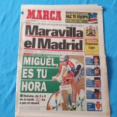 Coleccionismo deportivo: PERIÓDICO DEPORTIVO MARCA - MARAVILLA EL MADRID - 01/09/94. Lote 288907613