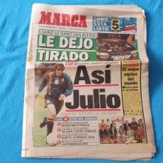 Coleccionismo deportivo: PERIÓDICO DEPORTIVO MARCA - LE DEJÓ TIRADO / ASÍ JULIO - 13/10/94. Lote 288909213