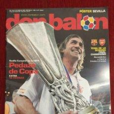 Coleccionismo deportivo: DON BALON FINAL CHAMPIONS 2006 ARSENAL BARCELONA COPA UEFA EUROPA LEAGUE SEVILLA MIDDLESBROUGH. Lote 289207538