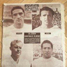 Coleccionismo deportivo: VIDA DEPORTIVA (25-6-1962) CAMPEON BRASIL DEL MUNDIAL DE CHILE CAMPEONATO DEL MUNDO FINAL. Lote 289210333