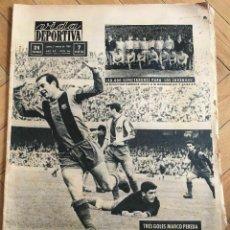 Coleccionismo deportivo: VIDA DEPORTIVA (2-3-1964) SONNY LISTON CASSIUS CLAY CAMPEONATO MUNDIAL BOXEO 1964 BARCELONA. Lote 289212743