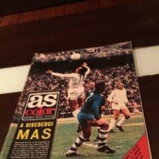 Coleccionismo deportivo: AS COLOR Nº 155 7 DE MAYO 1974 POSTER ATLETICO DE MADRID Y SUPLEMENTO DEL SALÓN DEL AUTOMÓVIL. Lote 289384063