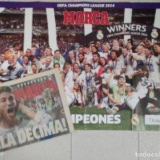 Coleccionismo deportivo: DIARIO MARCA. 25/05/2014. REAL MADRID DÉCIMA CHAMPIONS LEAGUE (2014). Lote 219493845