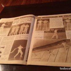 Coleccionismo deportivo: PERIODICO MARCA 1952 MUNDIAL DE PELOTA ,REGATA LA CONCHA. Lote 289534883