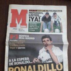 Coleccionismo deportivo: DIARIO DEPORTIVO MARCA, DOMINGO 18 DE AGOSTO DE 2002. Lote 289755958