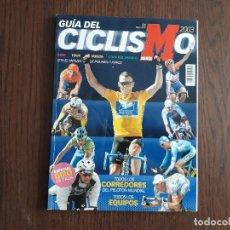 Coleccionismo deportivo: REVISTA MARCA, GUÍA DEL CICLISMO AÑO 2003, TODOS LOS CORREDORES DEL PELOTÓN MUNDIAL, ESPECIAL GIRO.. Lote 289757408
