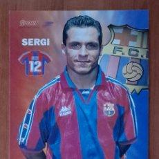Coleccionismo deportivo: FOTOGRAFÍA DE SERGI . F.C. BARCELONA. VER FOTOS Y DESCRIPCIÓN.. Lote 289874633