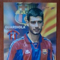 Coleccionismo deportivo: FOTOGRAFÍA DE GUARDIOLA . F.C. BARCELONA. VER FOTOS.. Lote 289875938