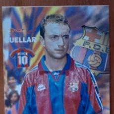Coleccionismo deportivo: FOTOGRAFÍA DE CUELLAR . F.C. BARCELONA. VER FOTOS Y DESCRIPCIÓN.. Lote 289877053