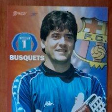 Coleccionismo deportivo: FOTOGRAFÍA DE BUSQUETS . F. C. BARCELONA. VER FOTOS Y DESCRIPCIÓN.. Lote 289877693