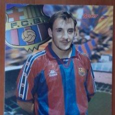 Coleccionismo deportivo: FOTOGRAFÍA DE FERRER .... F. C. BARCELONA. VER FOTOS Y DESCRIPCIÓN.. Lote 289878378