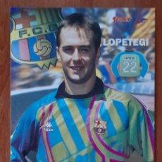 Coleccionismo deportivo: FOTOGRAFÍA DE LOPETEGI . F. C. BARCELONA. VER FOTOS Y DESCRIPCIÓN.. Lote 289880308