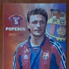 Coleccionismo deportivo: FOTOGRAFÍA DE POPESCU . F. C. BARCELONA. VER FOTOS Y DESCRIPCIÓN.. Lote 289880833
