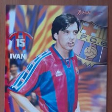 Coleccionismo deportivo: FOTOGRAFÍA DE IVAN . ........ F. C. BARCELONA. VER FOTOS Y DESCRIPCIÓN.. Lote 289881848