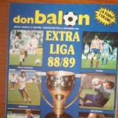 Coleccionismo deportivo: REVISTA DE FUTBOL DON BALON EXTRA LIGA Nº 16 AÑO 1988-1989/88-89. Lote 289882198