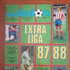 Coleccionismo deportivo: DON BALON. EXTRA Nº 12. EXTRA LIGA 1987/ 1988. 87/88. Lote 289882348