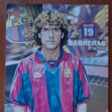 Coleccionismo deportivo: FOTOGRAFÍA DE CARRERAS F. C. BARCELONA. VER FOTOS Y DESCRIPCIÓN.. Lote 289882363