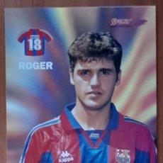 Coleccionismo deportivo: FOTOGRAFÍA DE ROGER ...... F. C. BARCELONA. VER FOTOS Y DESCRIPCIÓN.. Lote 289882978