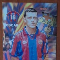 Coleccionismo deportivo: FOTOGRAFÍA DE OSCAR ...... F. C. BARCELONA. VER FOTOS Y DESCRIPCIÓN.. Lote 289883503