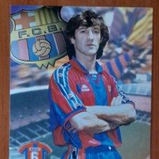 Coleccionismo deportivo: FOTOGRAFÍA DE BAQUERO.. F. C. BARCELONA. VER FOTOS Y DESCRIPCIÓN.. Lote 289885383