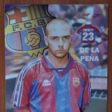 Coleccionismo deportivo: FOTOGRAFÍA DE DE LA PEÑA . F. C. BARCELONA.. Lote 289886703