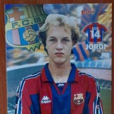 Coleccionismo deportivo: FOTOGRAFÍA DE JORDI CRUYFF F. C. BARCELONA. VER FOTOS Y DESCRIPCIÓN.. Lote 289888053