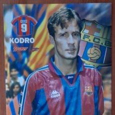 Coleccionismo deportivo: FOTOGRAFÍA DE KODRO . ... . F. C. BARCELONA. VER FOTOS Y DESCRIPCIÓN.. Lote 289889133