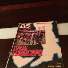 Coleccionismo deportivo: EXCELENTE EJEMPLAR. AS COLOR EXTRA EUROCOPA DE FUTBOL ITALIA 80. ESCASISIMO. 60 PAGINAS. Lote 290615978