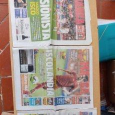 Coleccionismo deportivo: LOTE 3 PERIÓDICOS MARCA, SELECCIÓN ESPAÑOLA,AÑO 2014. Lote 290680328