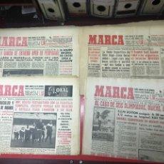 Coleccionismo deportivo: LOTE DIARIOS MARCA DÉCADAS 50-60. Lote 292153298