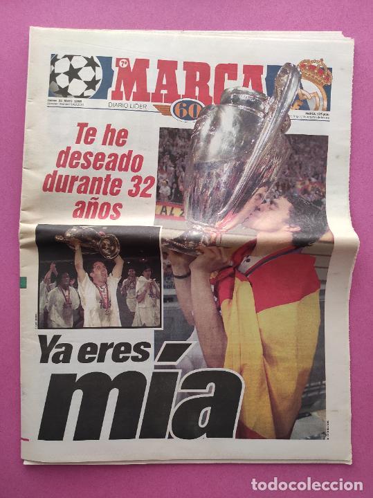 Coleccionismo deportivo: DIARIO MARCA REAL MADRID CAMPEON SEPTIMA COPA EUROPA 1997/1998 - CHAMPIONS LEAGUE 97 98 - AMSTERDAM - Foto 2 - 293542868