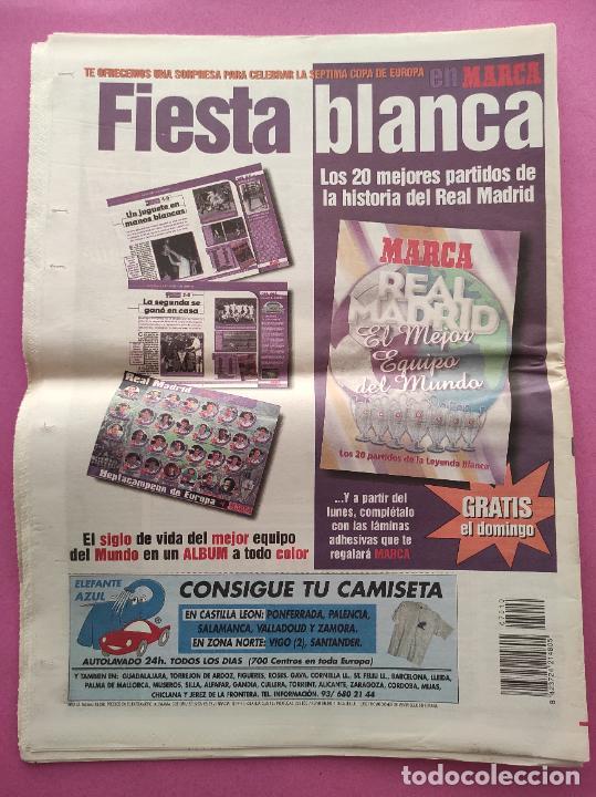 Coleccionismo deportivo: DIARIO MARCA REAL MADRID CAMPEON SEPTIMA COPA EUROPA 1997/1998 - CHAMPIONS LEAGUE 97 98 - AMSTERDAM - Foto 3 - 293542868
