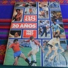 Coleccionismo deportivo: AS COLOR Nº 97 EXTRA 20 AÑOS 1967 1987. DICIEMBRE 1987. 120 PÁGINAS. BUEN ESTADO.. Lote 294081353