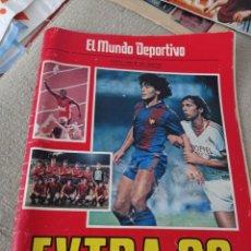 Coleccionismo deportivo: EL MUNDO DEPORTIVO EXTRA 1983. MARADONA. LA LIGA DEL ATLETIC DE BILBAO..LA COPA DEL REY DEL BARÇA. Lote 294097898