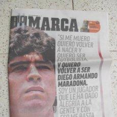 Coleccionismo deportivo: DIARIO MARCA. Lote 295048313