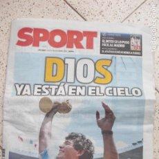 Coleccionismo deportivo: DIARIO SPORT. Lote 295048568