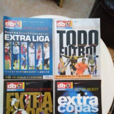 Coleccionismo deportivo: LOTE DE 4 REVISTAS DON BALÓN ( 2003-2004, 2004-2005, 2006-2007 Y 2007-2008 ). Lote 297114628