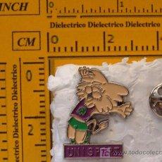 Coleccionismo deportivo: PIN DE DEPORTES: UNISPORT LEÓN SALTANDO. AÑOS 90. PERFECTO. . Lote 8540692