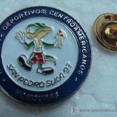 Coleccionismo deportivo: PIN DE LOS VI JUEGOS DEPORTIVOS CENTROAMERICANOS. SAN PEDRO SUCA. HONDURAS 1997. . Lote 11432611