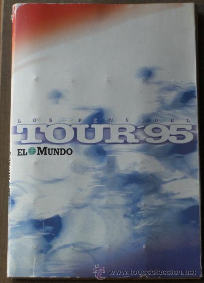 Coleccionismo deportivo: LOS PINS DEL TOUR DE FRANCIA AÑO 95 COLECCION COMPLETA CON INDURAIN - Foto 2 - 26607548