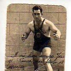 Coleccionismo deportivo: INTERESANTE FOTO DEL SUB-CAMPEON DE PESO PESADO DE ESPAÑA EN 1957 -ANTONIO ASENSIO FORCA-BOXA-LUCHA. Lote 18559347
