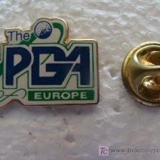 Coleccionismo deportivo: PIN DE DEPORTES. GOLF. THE PGA EUROPE. EL TOUR EUROPEO. METAL. AÑOS 80-90. . Lote 13381871