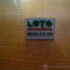 Coleccionismo deportivo: PIN LOTO CATALUNYA. Lote 14056338