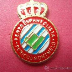 Coleccionismo deportivo: PEÑA ESPAÑOLISTA LOS PERICOS DE MONTMELO. Lote 27520428