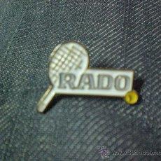 Coleccionismo deportivo: PIN DE TENIS RADO RAQUETA . Lote 15422108