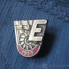 Coleccionismo deportivo: PIN 1959, ALGUN EVENTO EUROPEO. . Lote 23869296