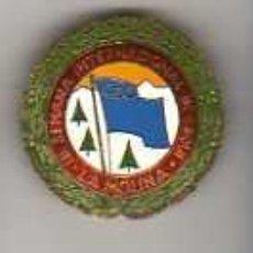 Coleccionismo deportivo: IMPORTANTE PIN MEDALLA III SEMANA INTERNACIONAL C.E.C .DE ESQUI LA MOLINA -. Lote 18703669