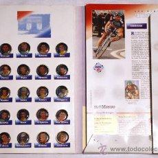 Coleccionismo deportivo: LOS PINS DEL TOUR 95. DEL DIARIO EL MUNDO. COMPLETO.. Lote 24908845